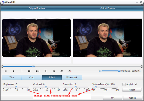 Add effects with DVD Ripper